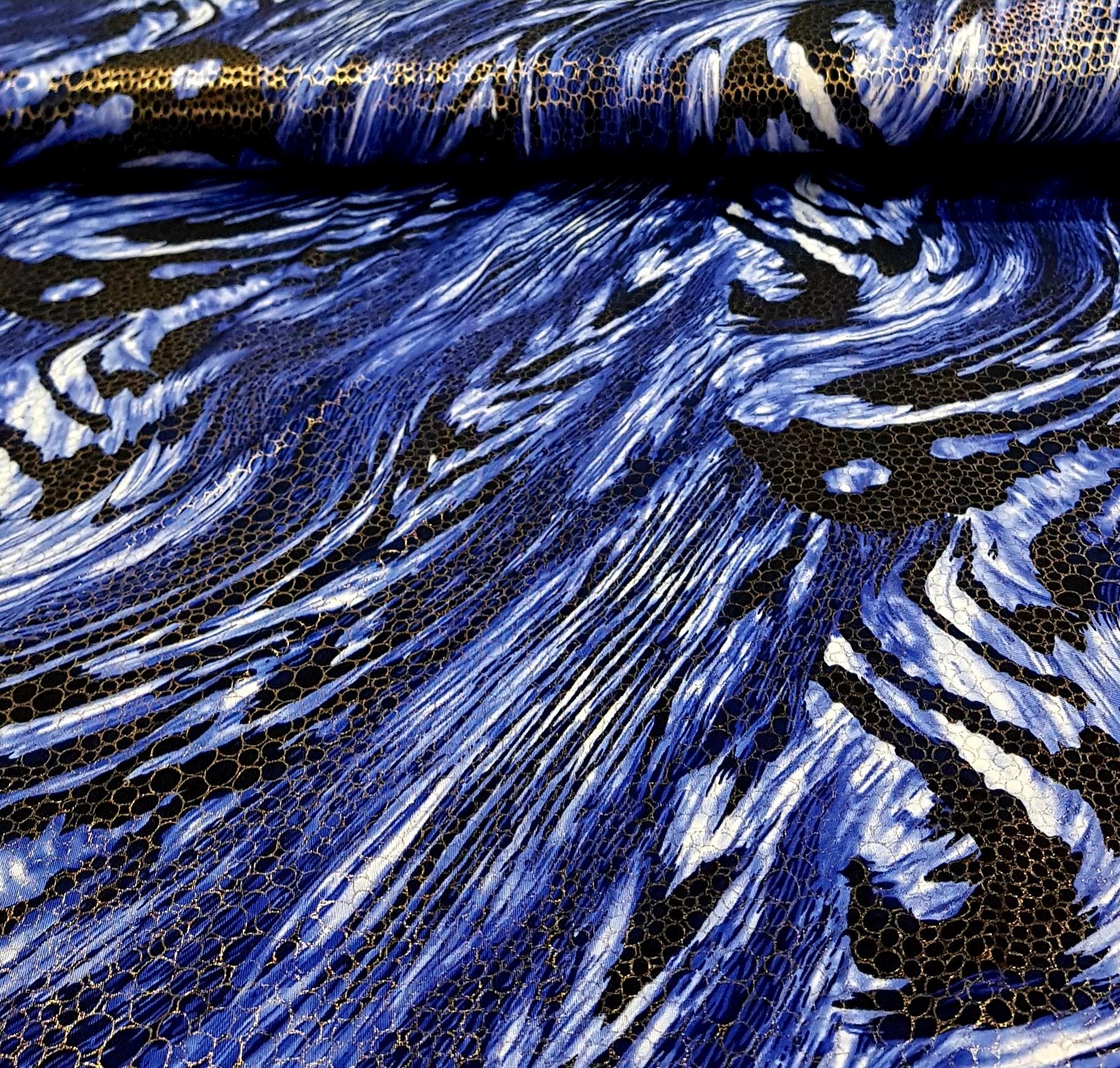 bedruktelycragoudenglittersblauwzwart