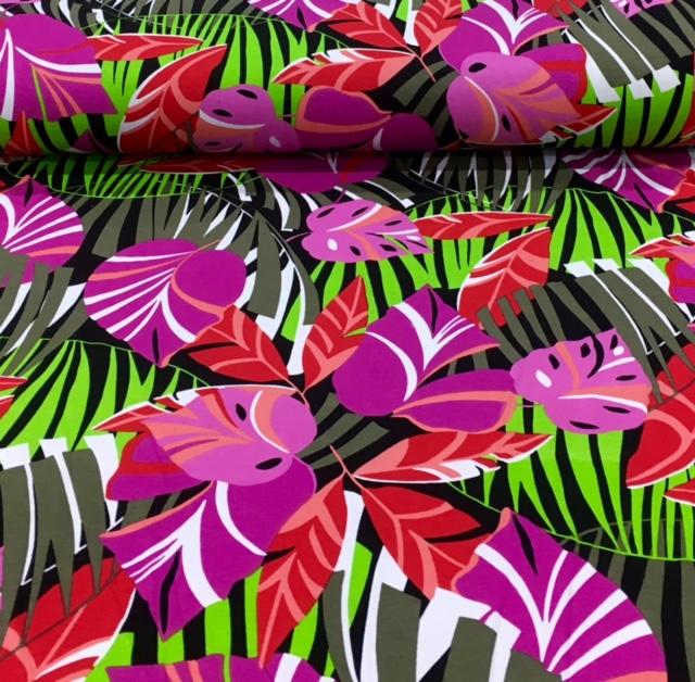 bedruktetricotgekleurdebladeren