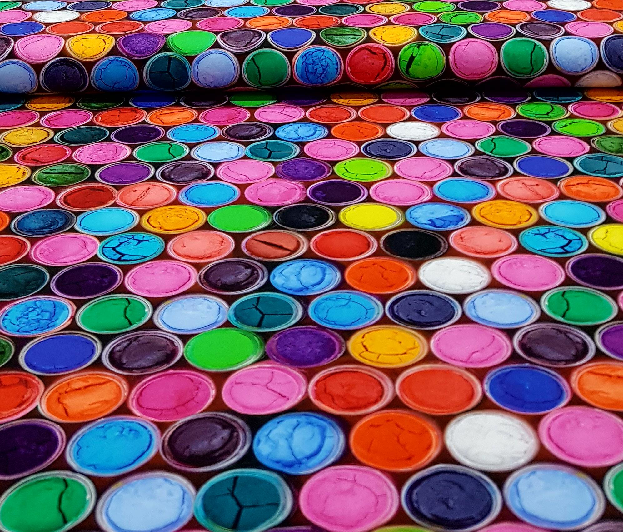 digitaletricotgekleurdeverfdeksels
