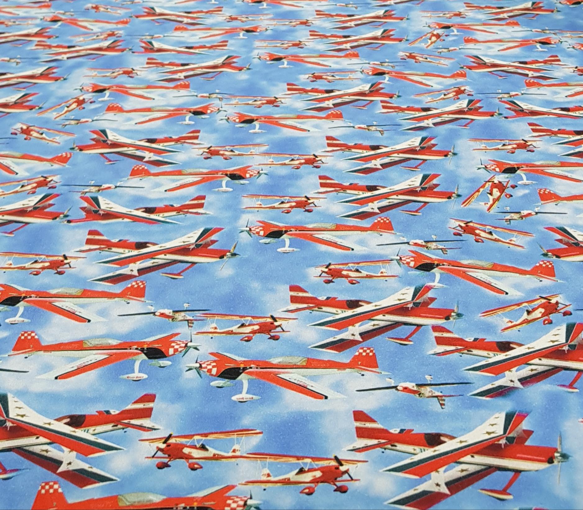 digitaletricotvliegtuigenrood