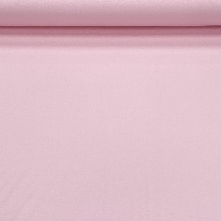 Tricotstoffen.nl | Tricot Uni Pastel Roze