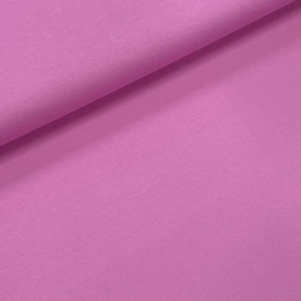 Roze (nude) uni - tricot - KicKenStoffen