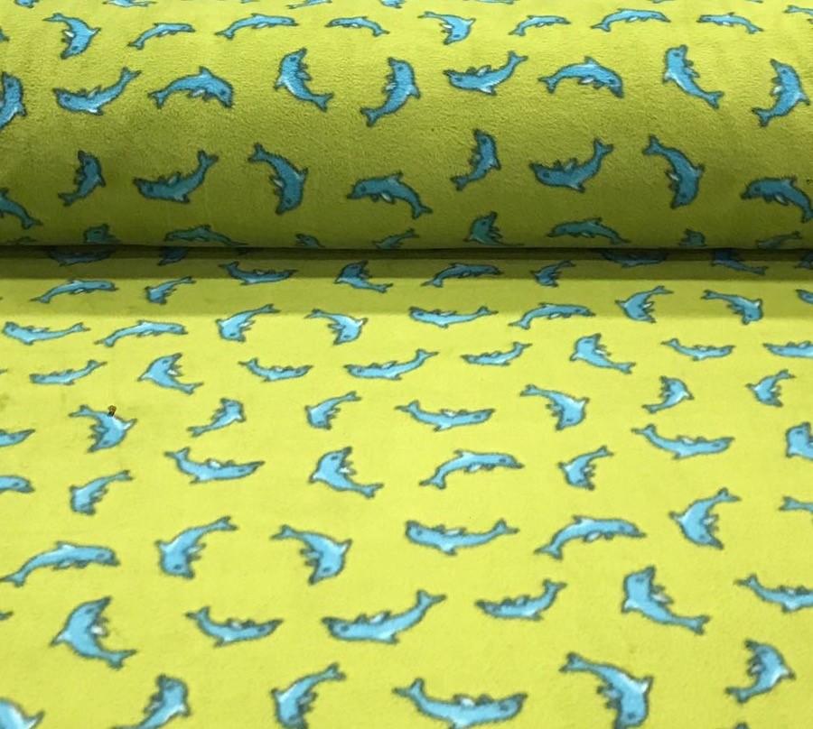 fleecedolfijengroenblauw