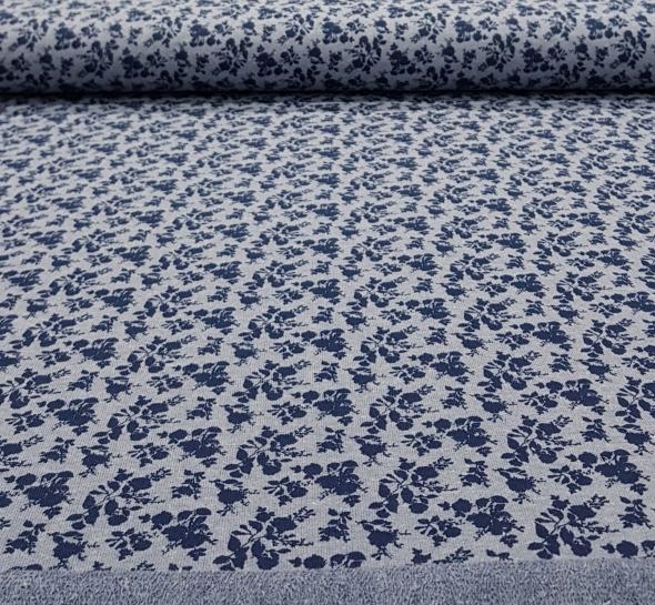 frenchterrybloemengrijsdonkerblauw