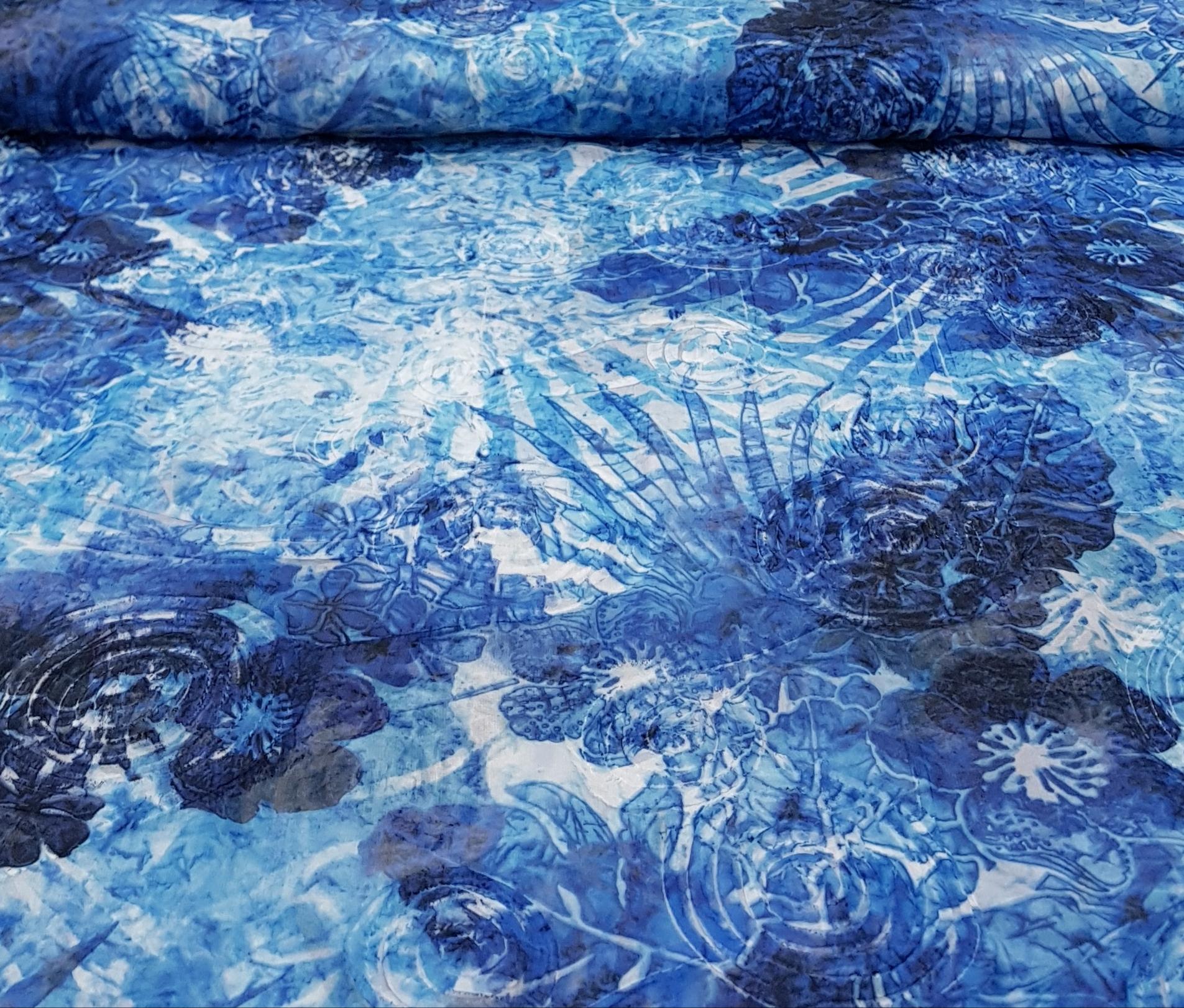 jacquardvoilebloemenkobaltblauw