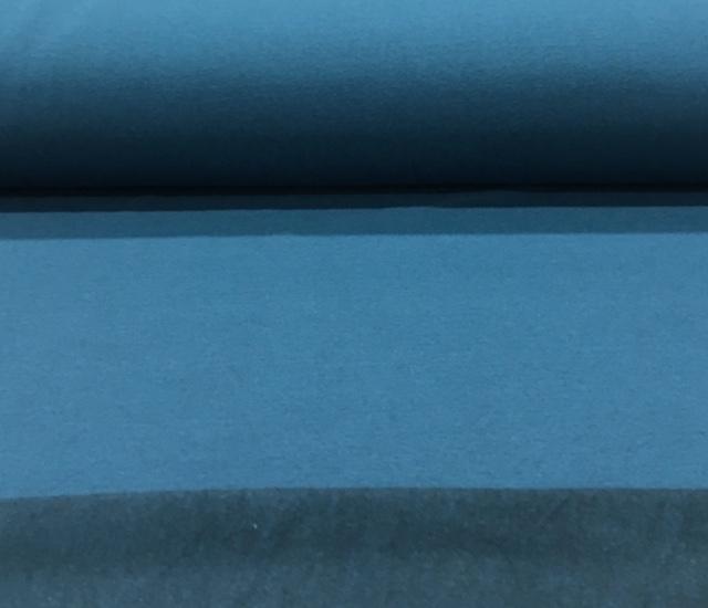joggingstofgemleerdpetrolblauw