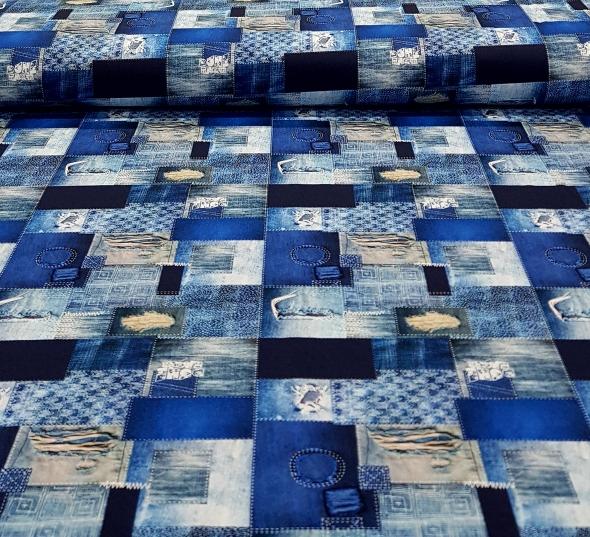 katoenentricotjeansvakkenblauw