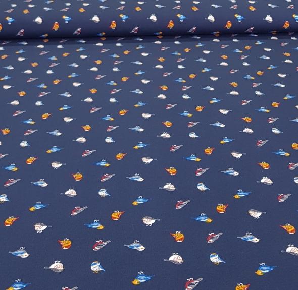 kinderfrenchterrytricotvogelsdonkerblauw