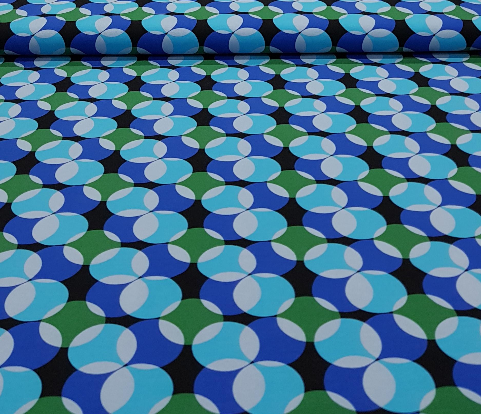 kindertricotcirkelsblauwgroen