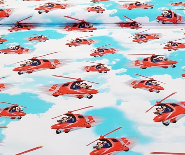kindertricotpieterpostvliegtuig