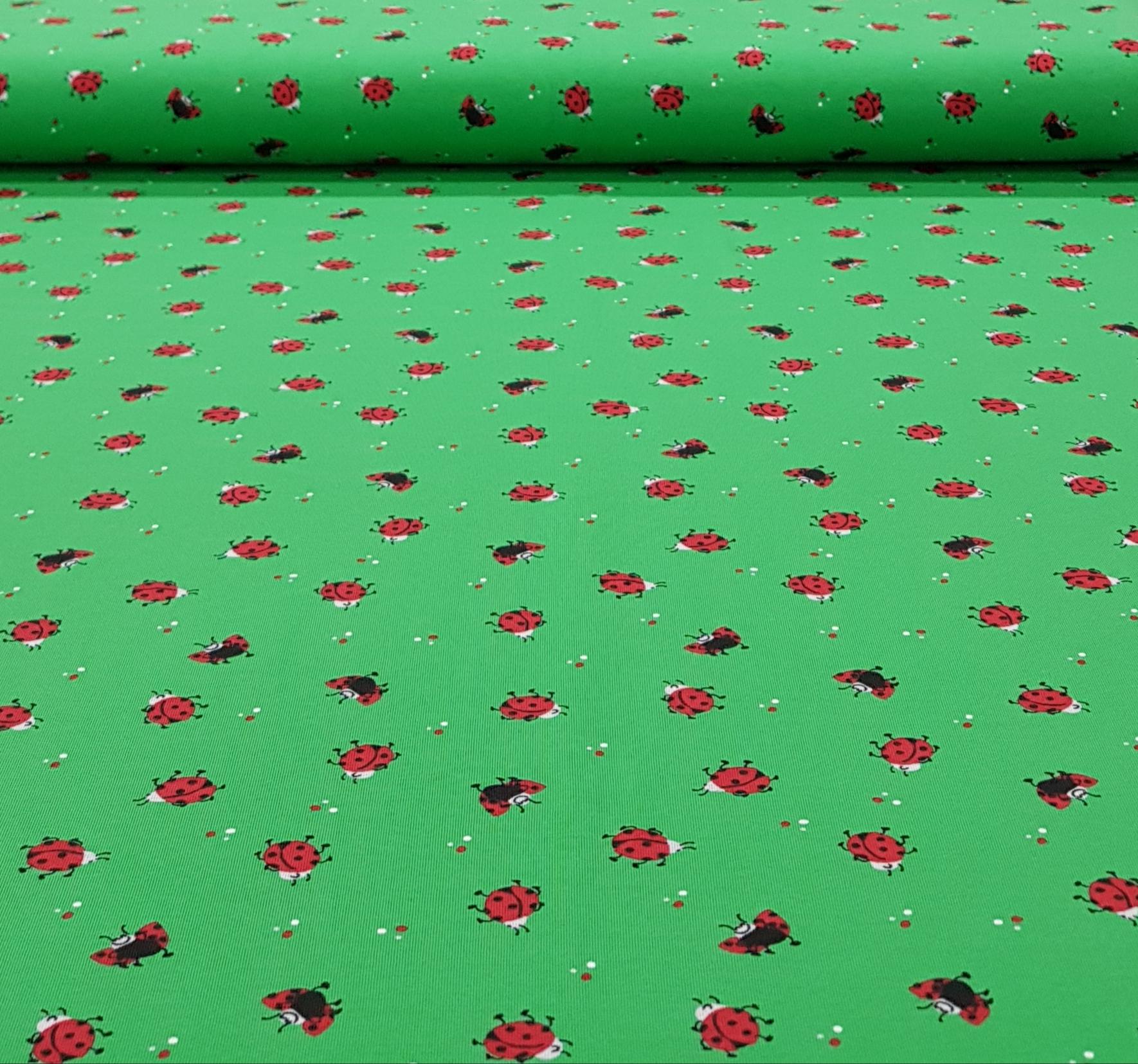 kindertricotvliegendelieveheersbeestjesgroen