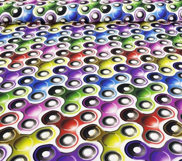 spinnersgekleurd