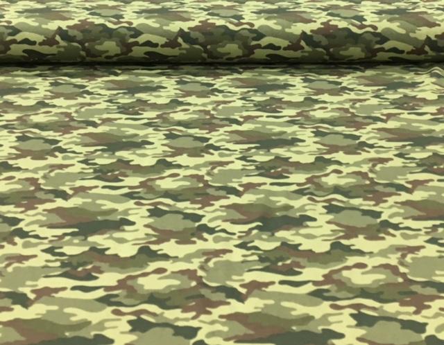 tricotlegerprintlegergroenbruin